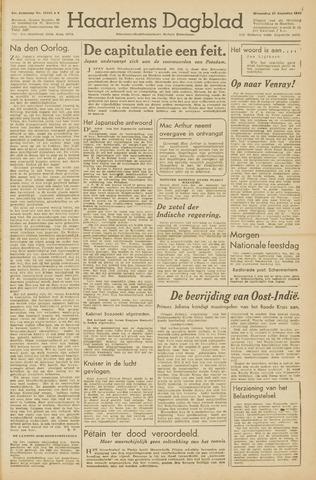 Haarlem's Dagblad 1945-08-15