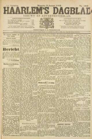 Haarlem's Dagblad 1893