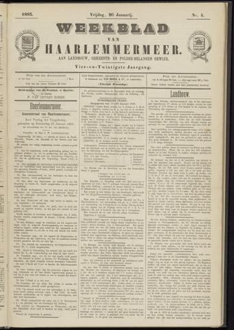 Weekblad van Haarlemmermeer 1883-01-26