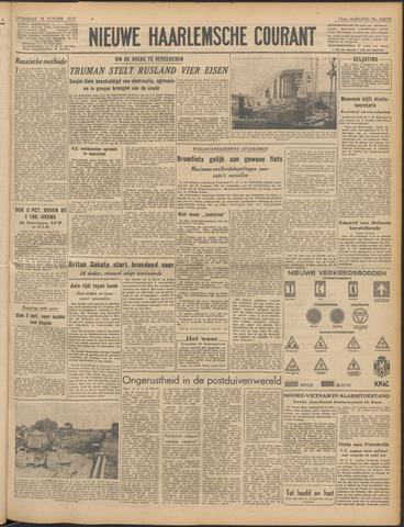 Nieuwe Haarlemsche Courant 1950-10-18
