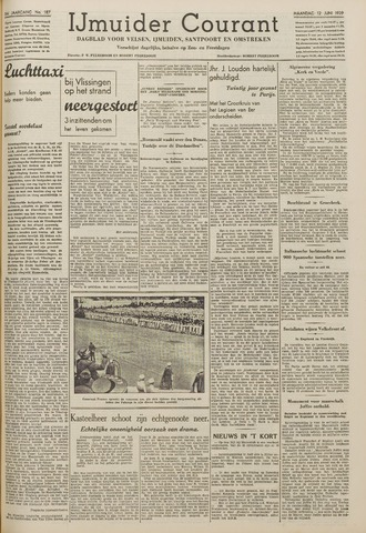 IJmuider Courant 1939-06-12