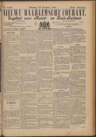 Nieuwe Haarlemsche Courant 1905-10-24