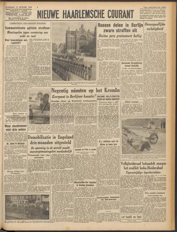 Nieuwe Haarlemsche Courant 1948-09-15