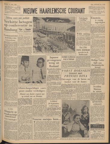 Nieuwe Haarlemsche Courant 1955-04-19