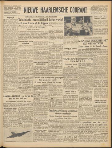 Nieuwe Haarlemsche Courant 1949-10-26