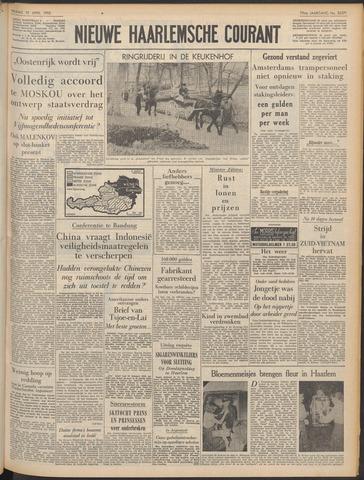 Nieuwe Haarlemsche Courant 1955-04-15
