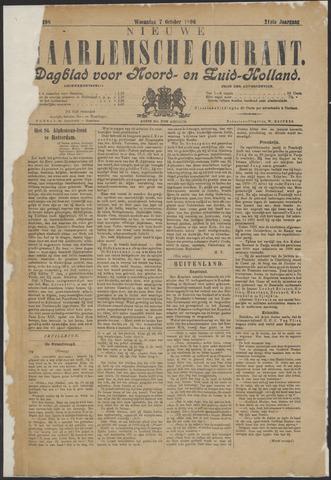 Nieuwe Haarlemsche Courant 1896-10-07