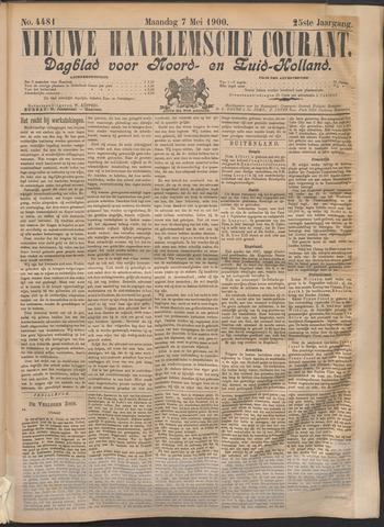 Nieuwe Haarlemsche Courant 1900-05-07