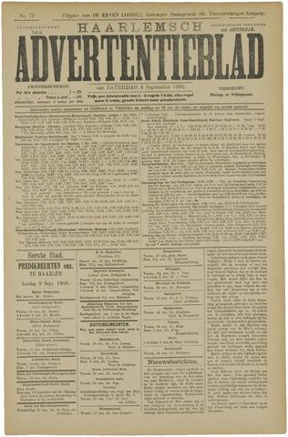 Haarlemsch Advertentieblad 1900-09-08