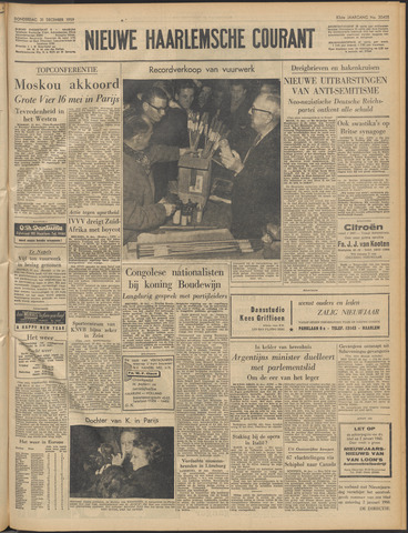Nieuwe Haarlemsche Courant 1959-12-31