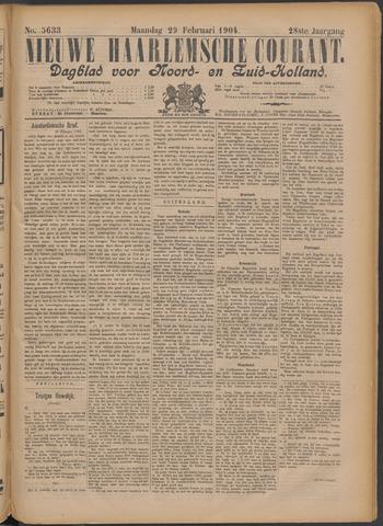 Nieuwe Haarlemsche Courant 1904-02-29