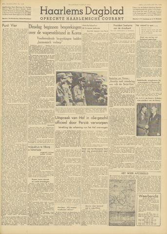 Haarlem's Dagblad 1951-07-09