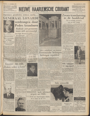 Nieuwe Haarlemsche Courant 1955-11-14