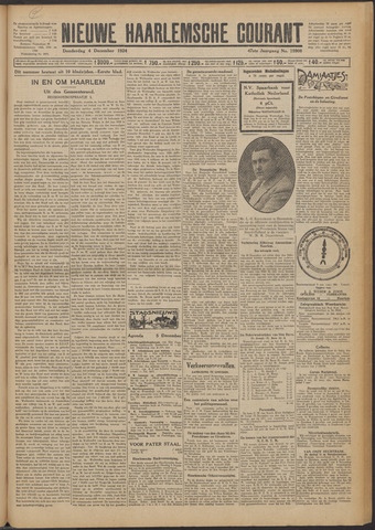 Nieuwe Haarlemsche Courant 1924-12-04