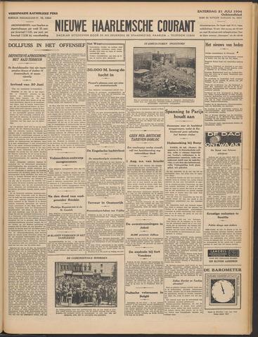 Nieuwe Haarlemsche Courant 1934-07-21