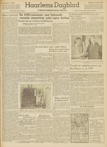 Haarlem's Dagblad 1950-10-07