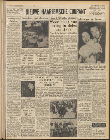 Nieuwe Haarlemsche Courant 1955-09-29