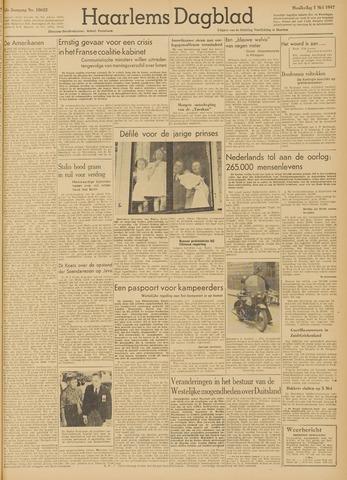 Haarlem's Dagblad 1947-05-01