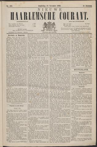 Nieuwe Haarlemsche Courant 1880-11-18