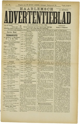 Haarlemsch Advertentieblad 1888-05-19