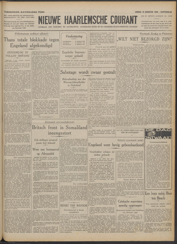 Nieuwe Haarlemsche Courant 1940-08-18