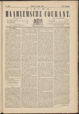Nieuwe Haarlemsche Courant 1886-04-18