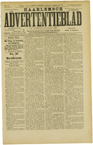 Haarlemsch Advertentieblad 1895-11-02