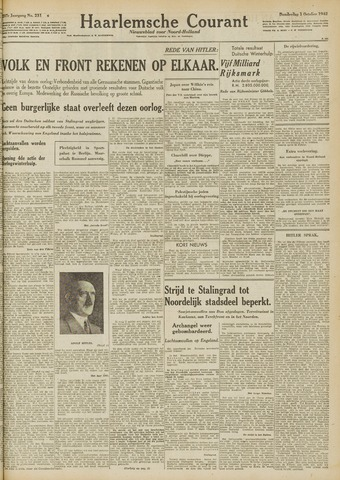 Haarlemsche Courant 1942-10-01
