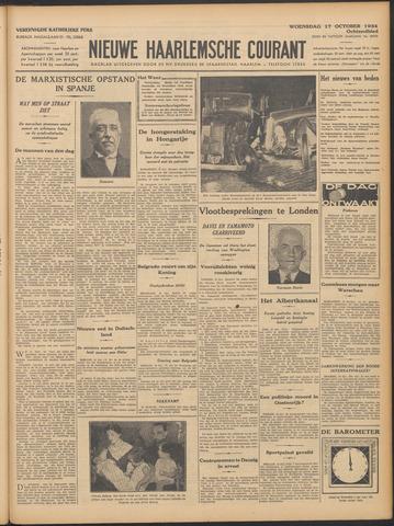 Nieuwe Haarlemsche Courant 1934-10-17