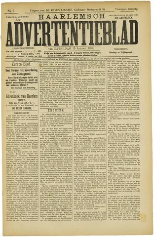 Haarlemsch Advertentieblad 1898-01-15