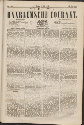 Nieuwe Haarlemsche Courant 1885-07-26