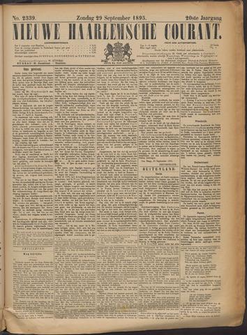 Nieuwe Haarlemsche Courant 1895-09-29