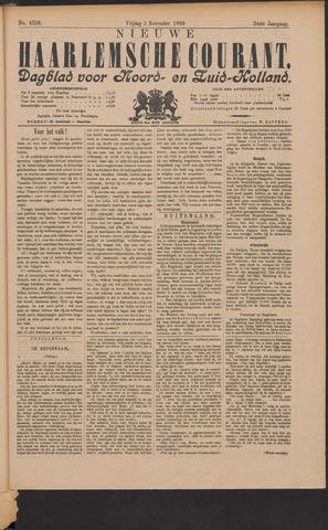 Nieuwe Haarlemsche Courant 1899-11-03