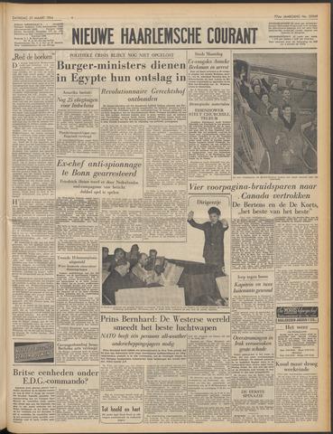 Nieuwe Haarlemsche Courant 1954-03-27