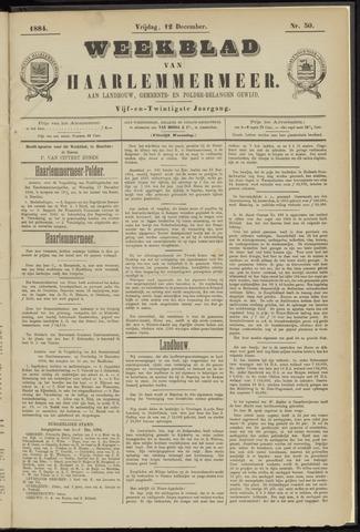 Weekblad van Haarlemmermeer 1884-12-12