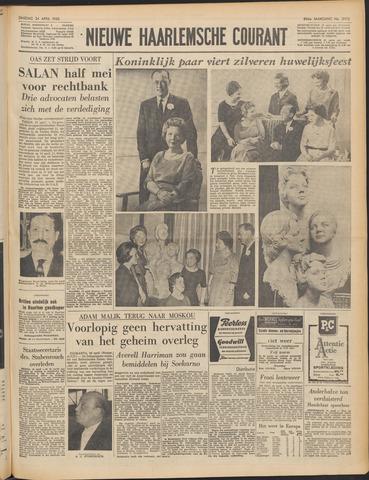 Nieuwe Haarlemsche Courant 1962-04-24