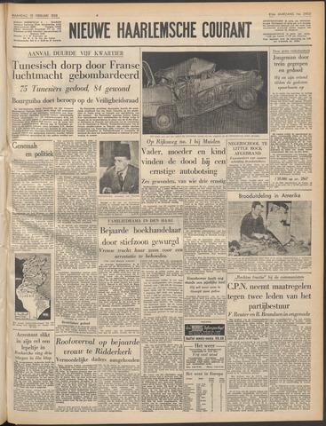 Nieuwe Haarlemsche Courant 1958-02-10