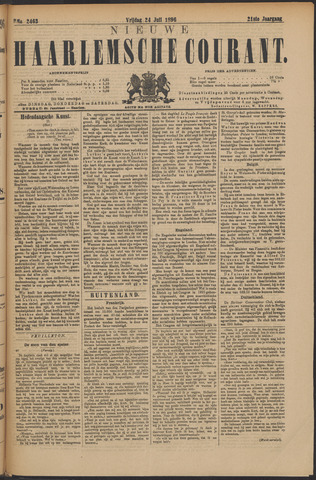 Nieuwe Haarlemsche Courant 1896-07-24