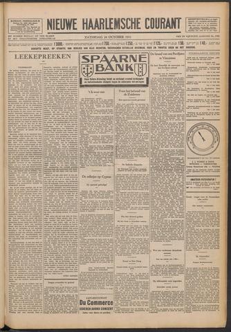 Nieuwe Haarlemsche Courant 1931-10-24