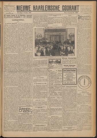 Nieuwe Haarlemsche Courant 1924-10-04