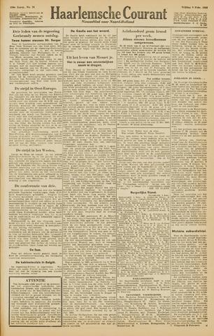 Haarlemsche Courant 1945-02-09
