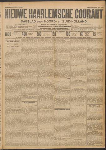 Nieuwe Haarlemsche Courant 1909-10-13