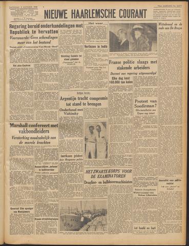 Nieuwe Haarlemsche Courant 1948-10-09
