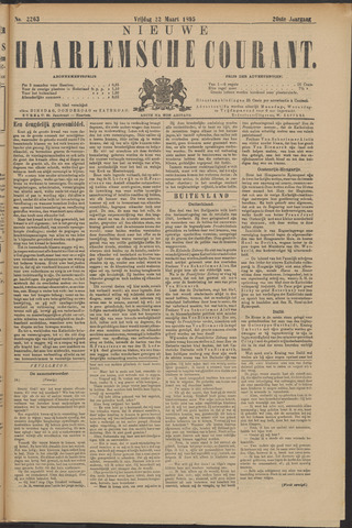 Nieuwe Haarlemsche Courant 1895-03-22