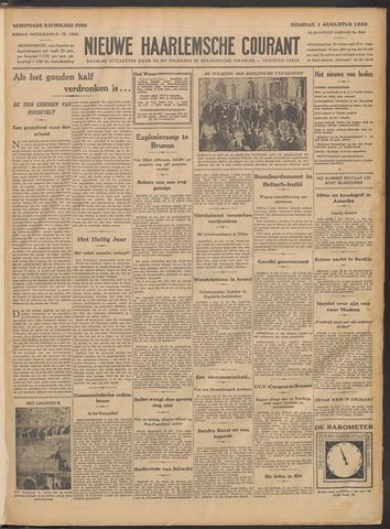 Nieuwe Haarlemsche Courant 1933-08-01