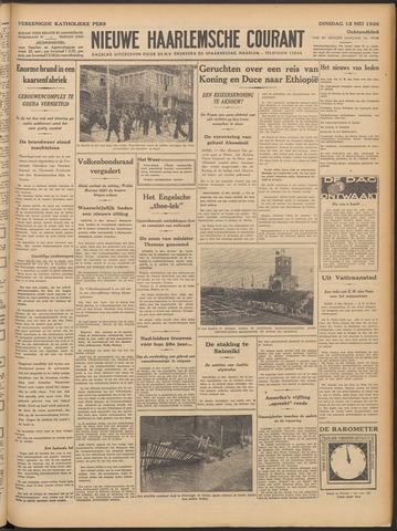 Nieuwe Haarlemsche Courant 1936-05-12