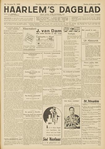 Haarlem's Dagblad 1935-11-26