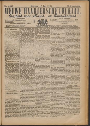 Nieuwe Haarlemsche Courant 1905-07-17