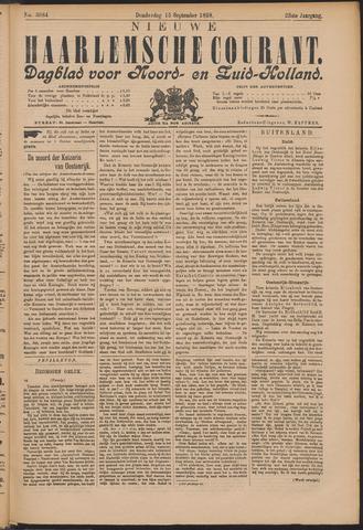 Nieuwe Haarlemsche Courant 1898-09-15