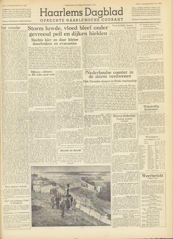Haarlem's Dagblad 1954-12-24